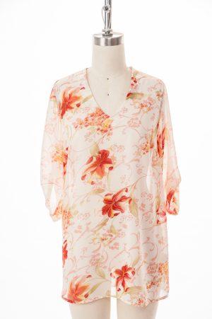 1146A-458- blouse-adapté-imp corail